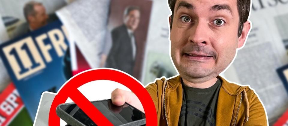 Puls Reportage: Was machen 7 Tage offline mit mir?