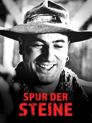 Schwar-Weiß-Bild: Der junge Manfred Krug mit Hut