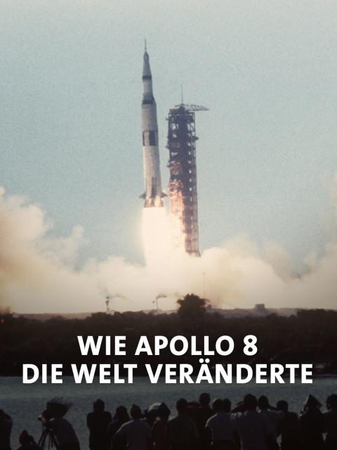 Der Start der Apollo 8 Rakete in Cape Canaveral