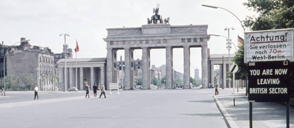 Das Brandenburger Tor, 1960, Bild: imago images