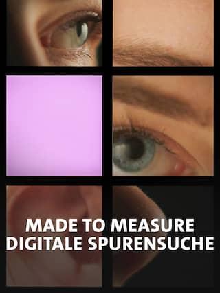 "Dokuplakat zu ""Made to measure"". (Quelle: rbb/WDR/Konrad Waldmann)"