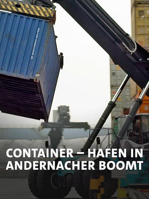 Großes Gerät für schwere Container.