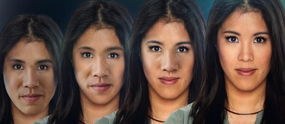 Montage: Mai Thi Nguyen-Kim zwischen männlich und weiblich