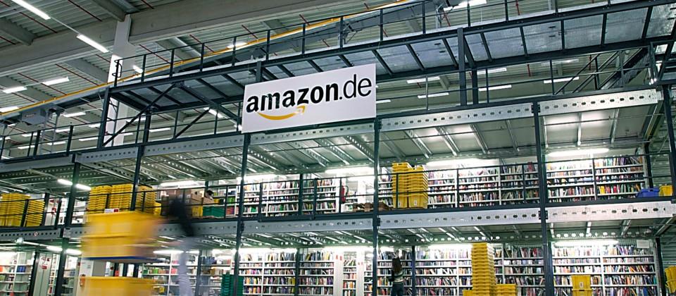 Amazon Logistikzentrum Bad Hersfeld.