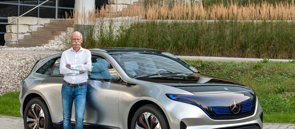 Dr. Dieter Zetsche, Vorsitzender des Vorstands der Daimler AG und Leiter Mercedes-Benz Cars am Generation EQ