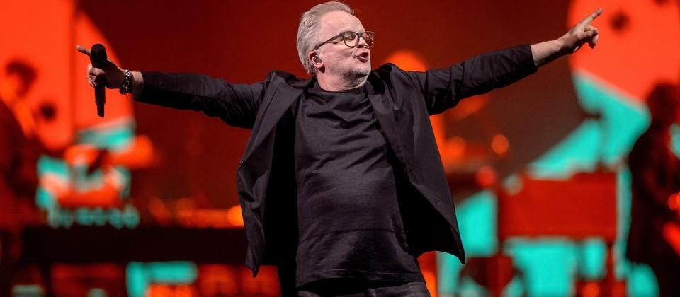 Herbert Grönemeyer bei einem Konzert