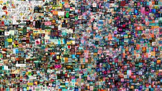 """Ausschnitt aus der """"EVERYDAYS""""-Collage des Künstlers BEEPLE"""