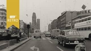 Entlastungsstraße Tiergarten Berlin 1964