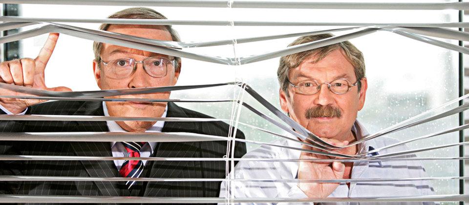 Jaecki Schwarz und Wolfgang Winkler