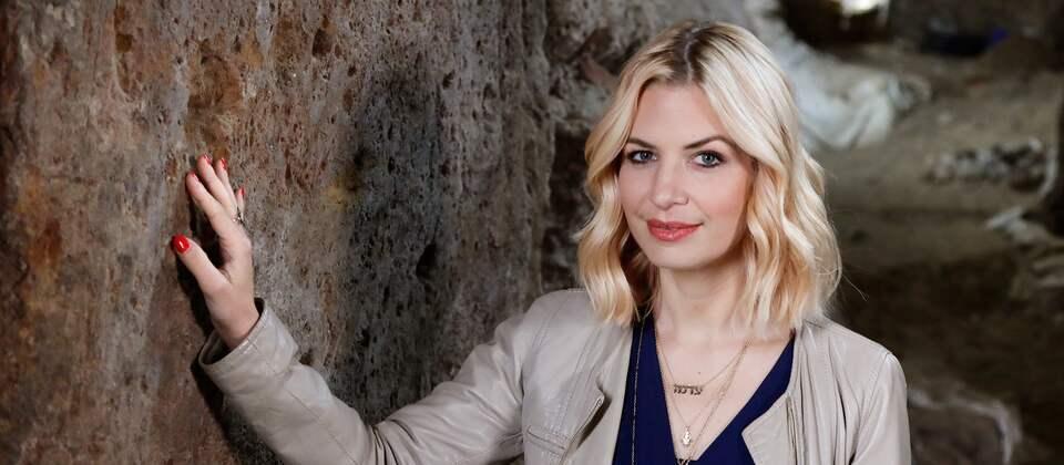 Presenterin Susan Sideropoulos