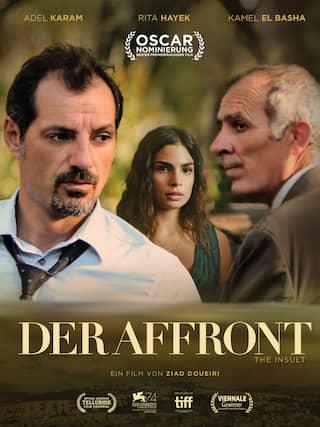 Filmplakat Der Affront