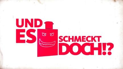"""Logo der Sendung """"Und es schmeckt doch"""""""