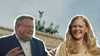 SR-Sommerinterview mit Markus Uhl (CDU) und Josephine Ortleb (SPD)