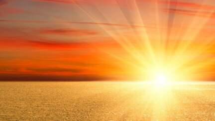 Sonne, Wüste