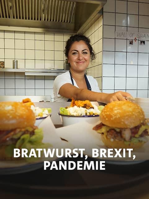 Azadeh Falakshahi verkauft Burger nach Londoner Art in ihrer Heimatstadt Lörrach.