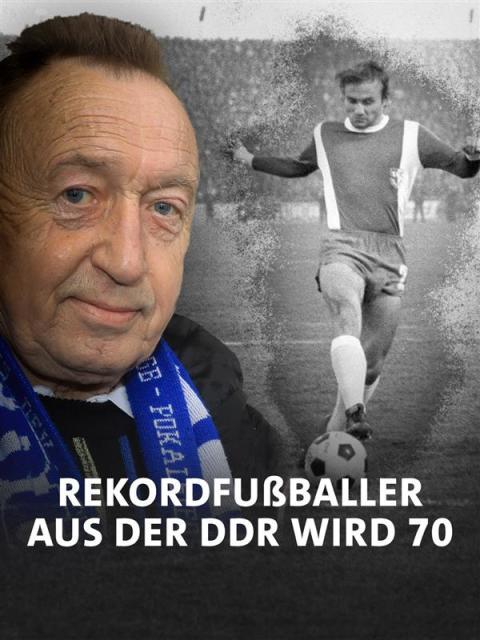 Joachim Streich, DDR, Rekordfußballer