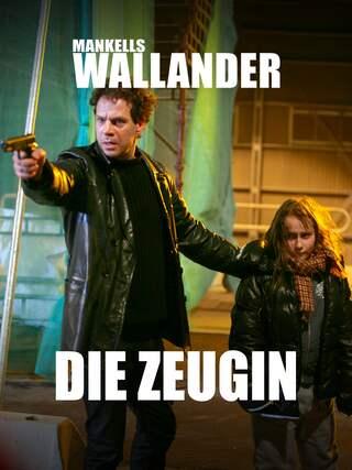 """FIlmposter zu """"Mankells Wallander - Die Zeugin"""""""