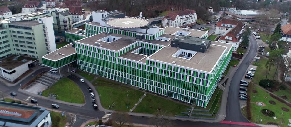 Das Universitätsklinikum Homburg