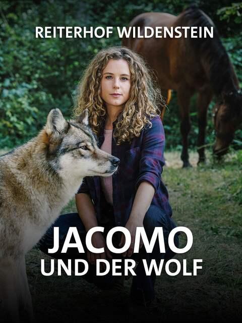 Rike mit einem Wolf