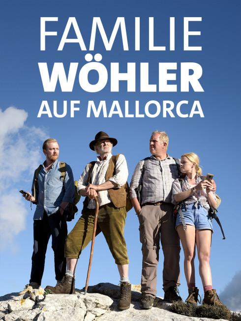 Familie Wöhler, vermutlich auf Mallorca