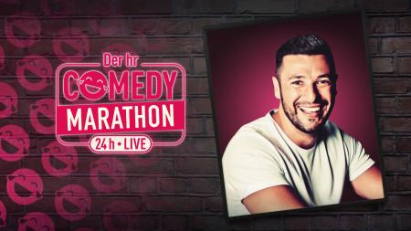 Cüneyt Akan beim hr Comedy Marathon