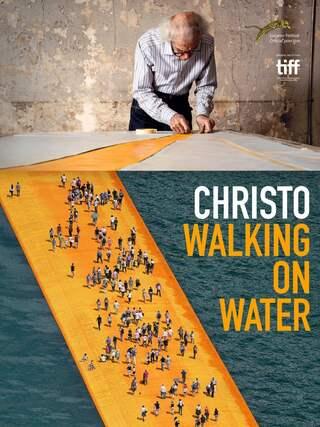 """Poster zur Doku """"Christo - Walking On Water"""""""