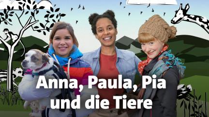 Anna, Paula, Pia und die Tiere