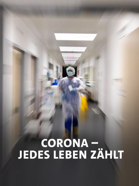 Ein Krankenpfleger läuft über die Intensivstation am Universitätsklinikum Schleswig-Holstein
