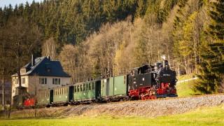 Schmalspurbahn/ Preßnitztalbahn