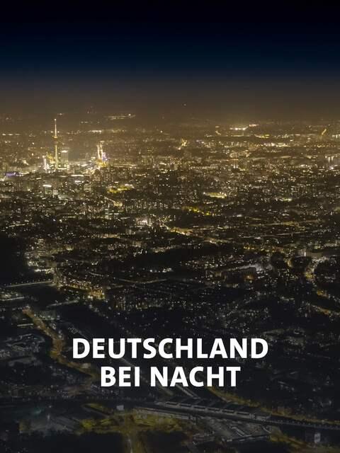 Himmel über Berlin bei Nacht