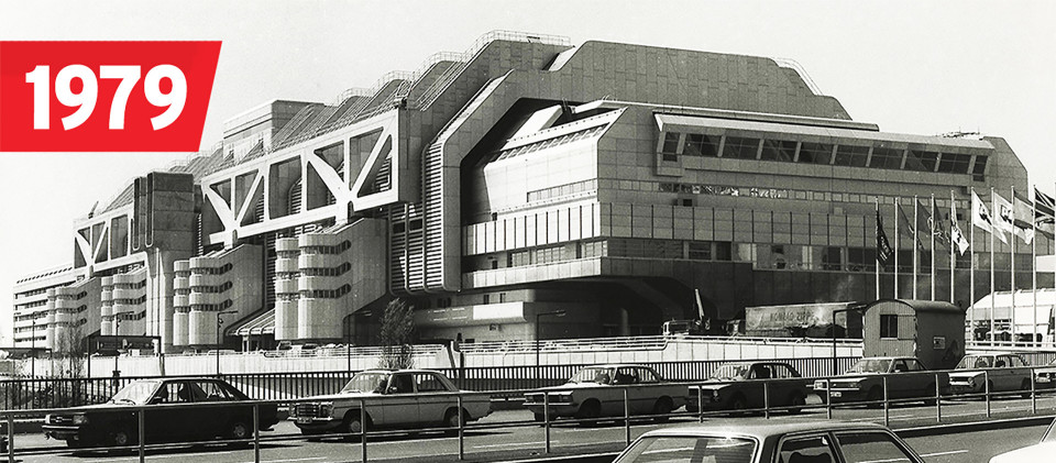 Internationales Congress Centrum in Berlin, 1979 (Quelle: dpa)