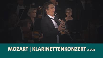 Sebastian Manz spielt Klarinette