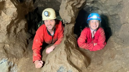"Szenenbild aus ""Bianca auf Höhlentour"""
