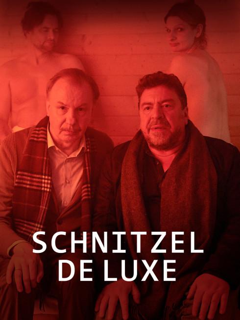 zwei angezogene Männer Infrarot Sauna