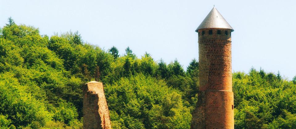 Die Burg in Kirkel