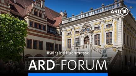 ARD-Forum aus der Alten Handelsbörse in Leipzig