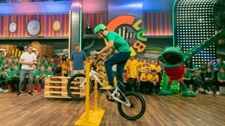 """Szenenbild """"BMX Race mit Philip Schaub"""""""
