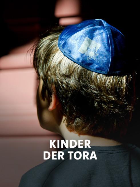 Jüdischer Junge mit Kippa