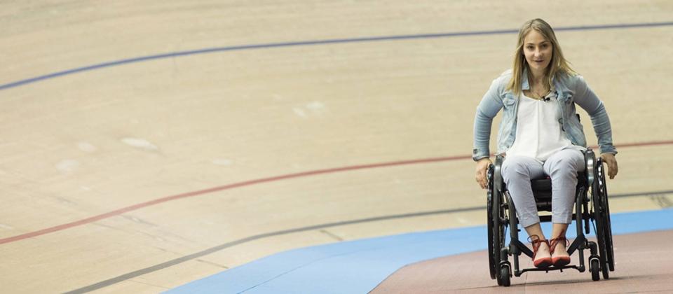 Radsportlerin des Jahres: Kristina Vogel (Erfurt), seit einem schweren Trainingsunfall im Juni in Cottbus ist Kristina querschnittsgelähmt und sitzt im Rollstuhl