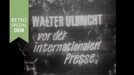 Pressekonferenz Walter Ulbricht 1961