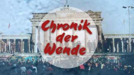 """Logo der ORB-Sendung """"Chronik der Wende"""", Bild: rbb/ORB"""