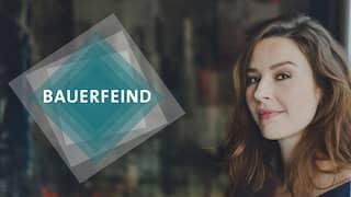 Heroimage der neuen Staffel mit Katrin Bauerfeind und Logo