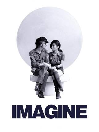 """Filmplakat zu """"Imagine"""" aus dem Jahr 1972"""
