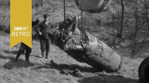 SWR Retro V1 Geschoss Zweiter Weltkrieg Nachkriegszeit Bombe