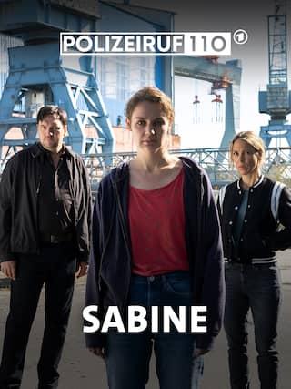 Filmposter zum Polizeiruf 110: Sabine