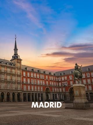 Der Plaza Mayor in Madrid