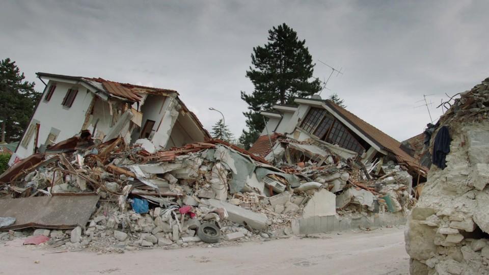Impression: Ein Jahr nach Erdbeben Italien
