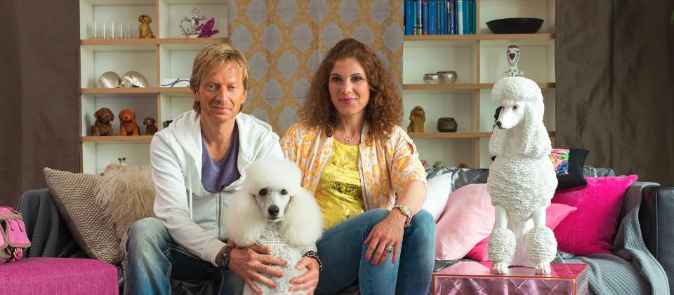 Michael Kessler und Yasmina Djaballah als Mike Schneider und Nadine Fottner, Foto: rbb