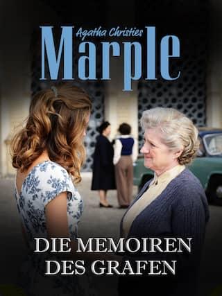 Virginia (Charlotte Salt, l) und Miss Marple (Julia McKenzie)