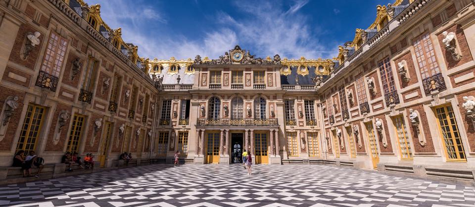 Schloss Versailles in Frankreich